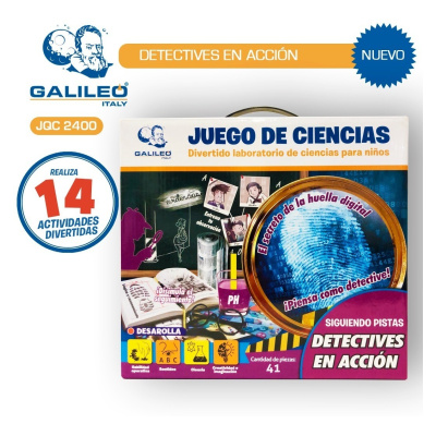 Galileo Detectives en accion
