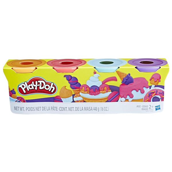 Play Doh Pack x4 Dulces 1