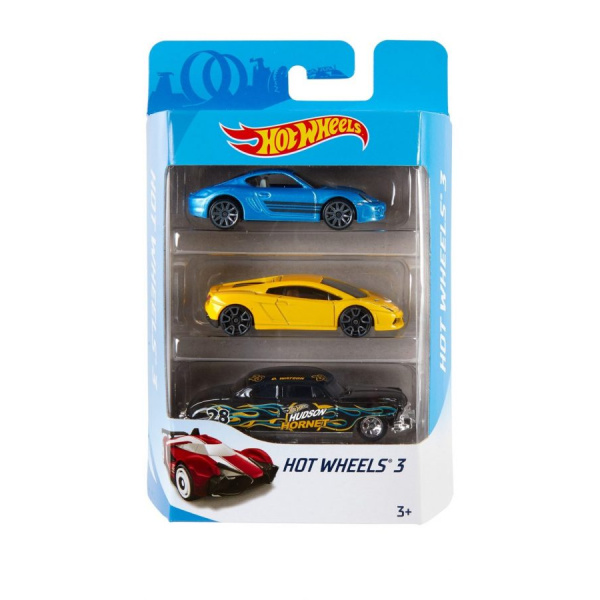 Hot Wheels Pack Surtido x3 - Producto