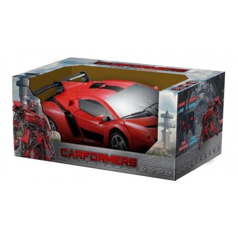Carformers - Auto a Control Remoto Transformable - Rojo - Producto