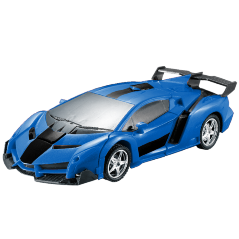 Carformers - Auto a Control Remoto Transformable - Azul - Producto
