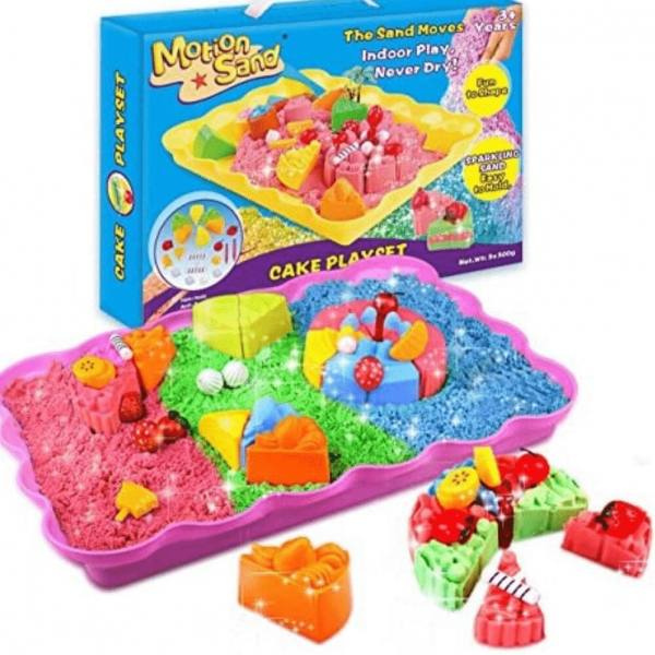 Arena mágica Cake Playset - Motion Sand - Producto