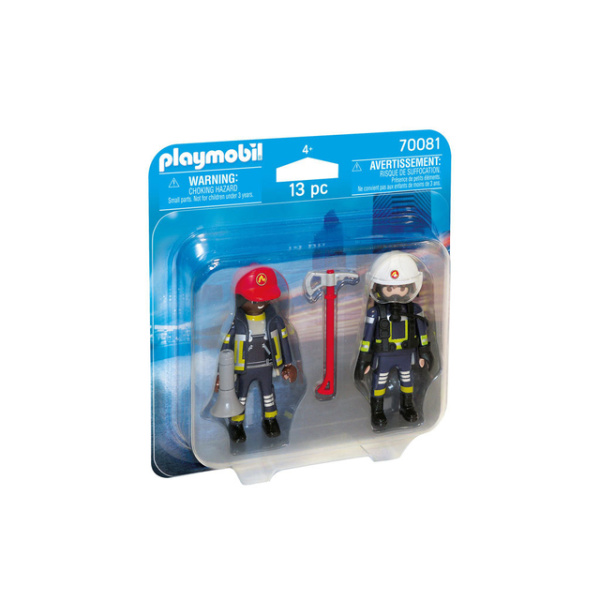 Playmobil - Duo Pack Bomberos - Producto