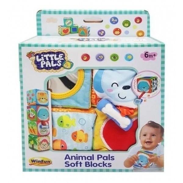 Bloques Soft Animales - Win Fun - Producto