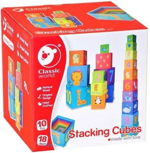 Classic World - Cubos Apilables - Producto