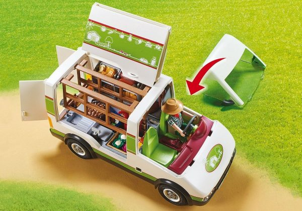 Playmobil 70134 Country Camion Mercado Agricola Movil - Producto