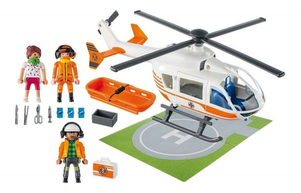 Playmobil 70048 City Life Helicoptero De Rescate - Producto