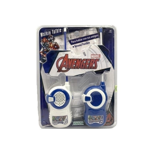 Avengers Walkie Talkie - Ditoys - Producto