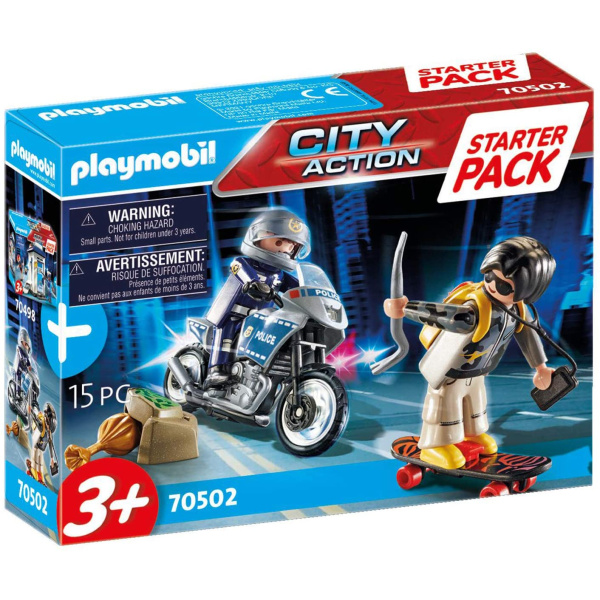Playmobil 70502 Starter Pack Police Chase - Producto